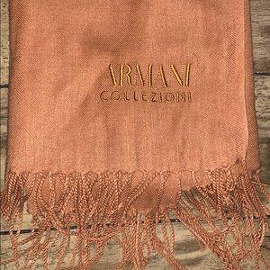 Armani cashmere scarf